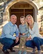 Fall Family Portraits at Monastery Park in Cumberland RI