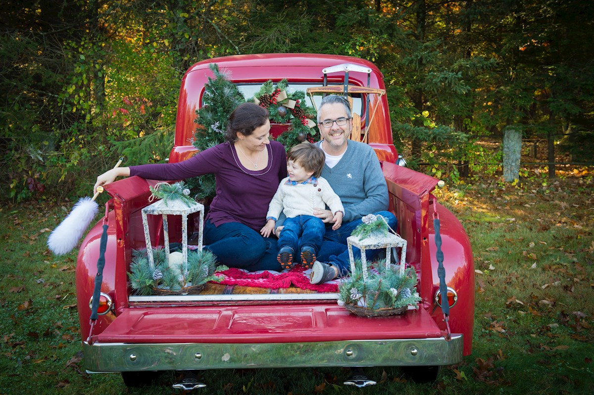 outdoor christmas mini photo sessions