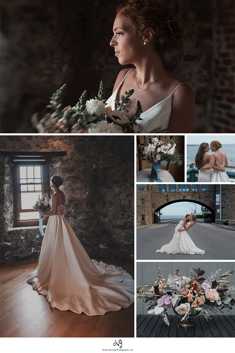 dark and moody boho wedding inspiration