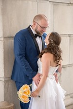 Classic Downtown Providence Wedding in September