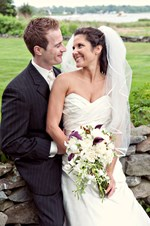 Spring Wedding at Private Residence in Barrington, RI