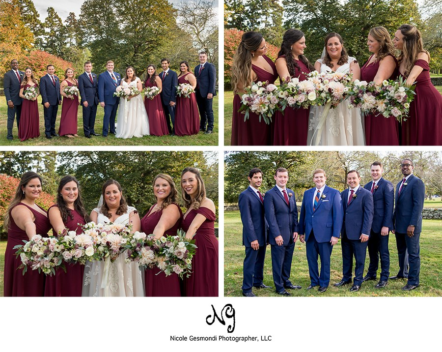 flowers by semia fall wedding photos